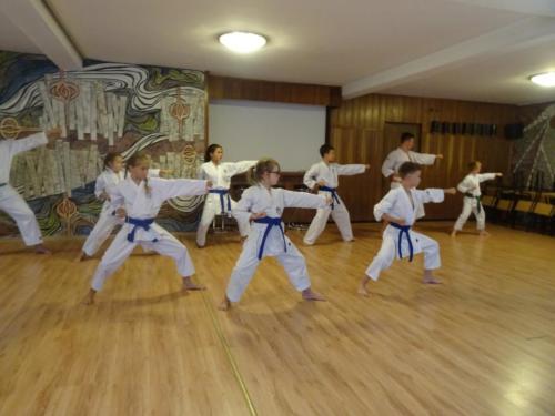 Drugi dzień obozu karate tradycyjnego CKTW i GKKT 2019