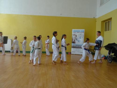 Pokaz karate zawodników GKKT i CKTW. 13.06.2019