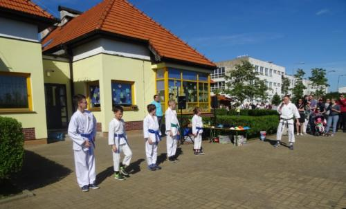 Pokaz karate tradycyjnego w Przedszkolu nr 58 we Wrocławiu, Maj 2019