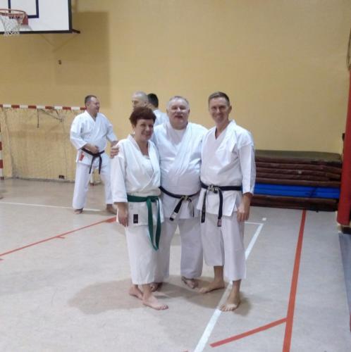 Seminarium z senseiem Zbigniewem Sitarzem 6 DAN, Kluczbork 09.02.2019