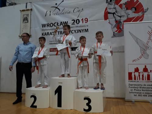 """Międzynarodowy Turniej Karate Tradycyjnego """"Wratislavia Cup 2019"""" 09.03.2019r."""