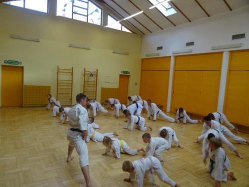 Zakończenie sezonu karate zawodników CKTW w roku szkolnym 2018/2019